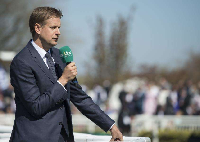 EXCITING TIMES: ITV's Ed Chamberlin. Picture: Racing Post