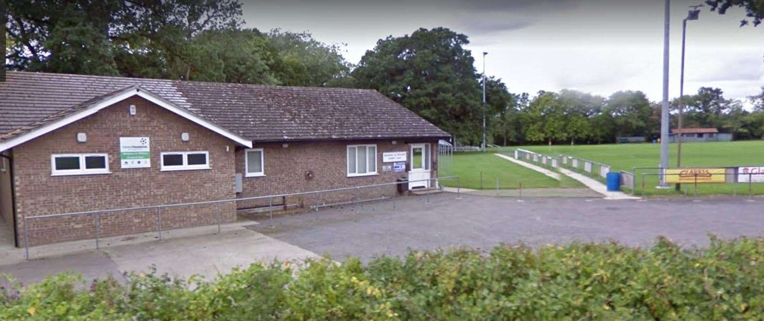 The Walsham-le-Willows Sports Club clubhouse as seen from Summer RoadPicture: Google Streetview (39053292)