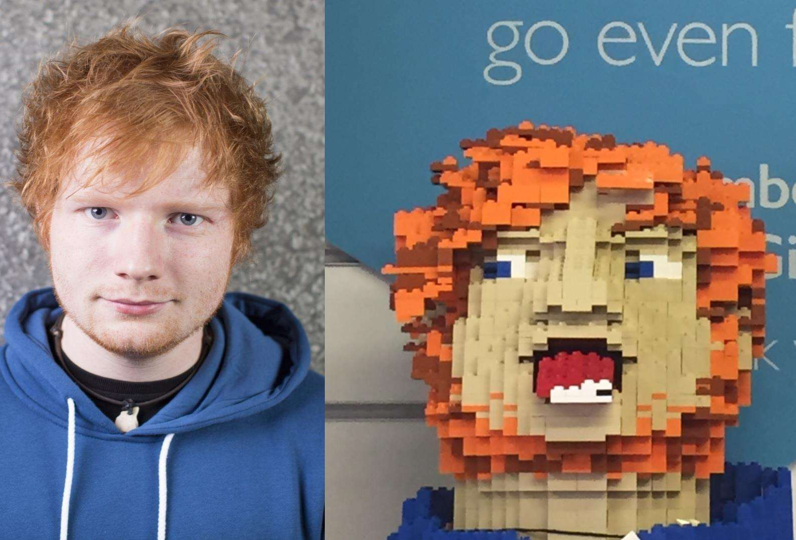 Ed Sheeran's Lego Head (2784336)