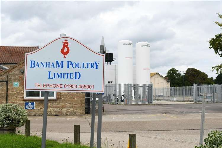 All workers at Banham Poultry have been asked to self-isolate following the outbreak last week.