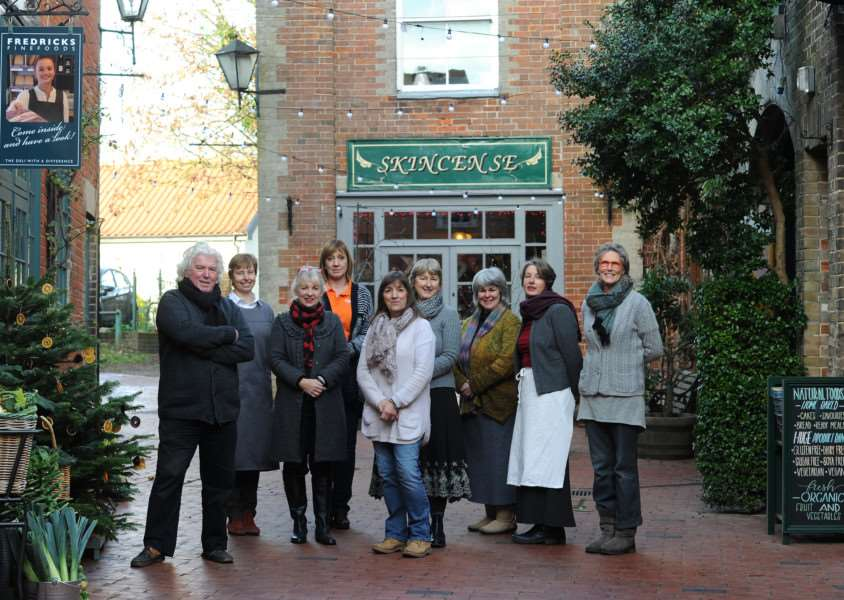 Shopkeepers in Norfolk House Courtyard are taking part in St Nicholas Christmas Experience ANL-161130-145913009