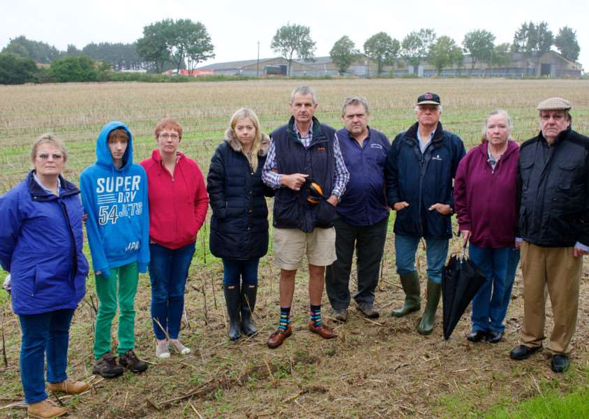 Bressingham, Norfolk. Bressingham residents are concerned after a judicial review was refused and the expansive development of a grain facility is due to take place near their homes. ''Picture: MARK BULLIMORE