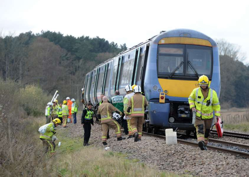 Train and Tractor crash at Roudham ANL-161004-191051009