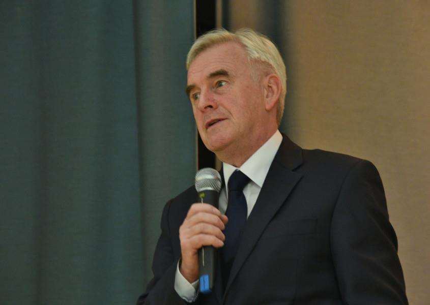 CONFIRMED: Shadow chancellor John McDonnell will attend this year's rally.