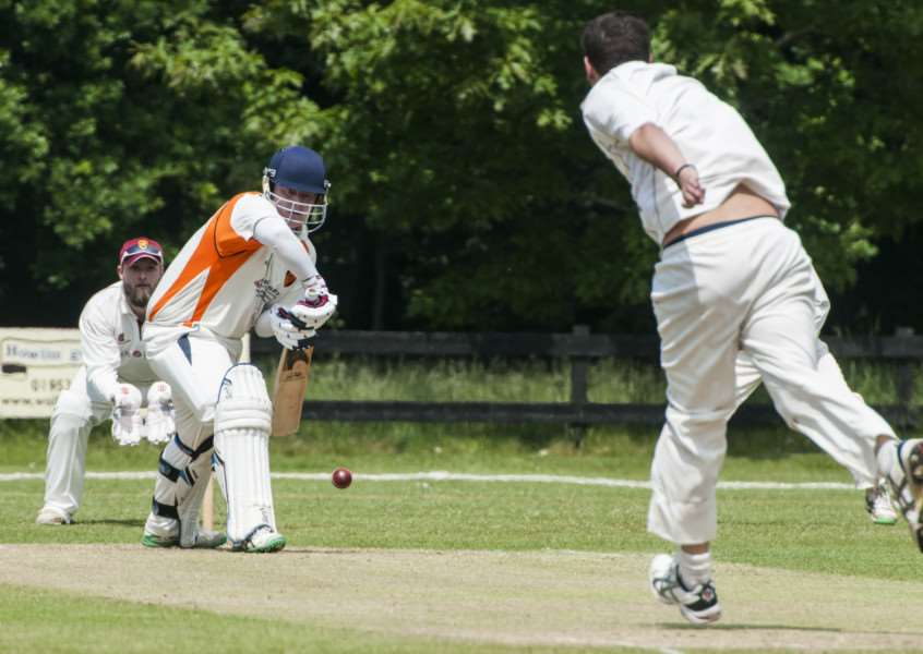 GREAT KNOCK: Robert Tooke scored 83 for Diss during their victory against Swardeston