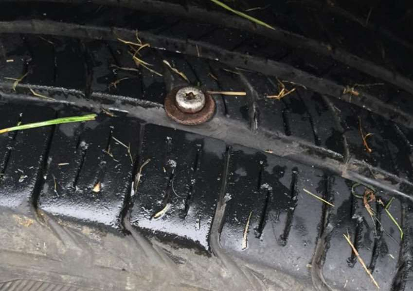 Screws have been found at road junctions in Long Stratton. ANL-150827-121311001