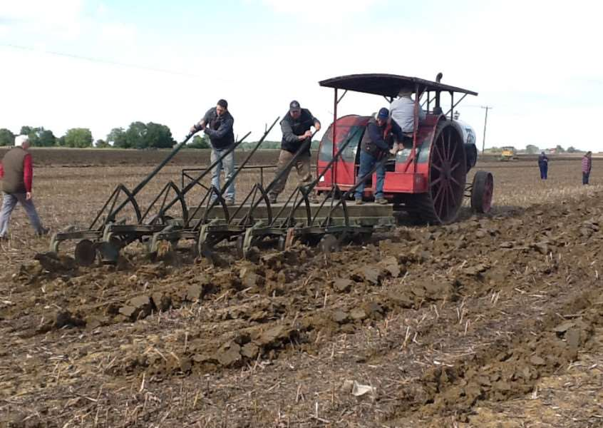 The David Brown and Old Ram Tractor Clubs Annual Plough Day.