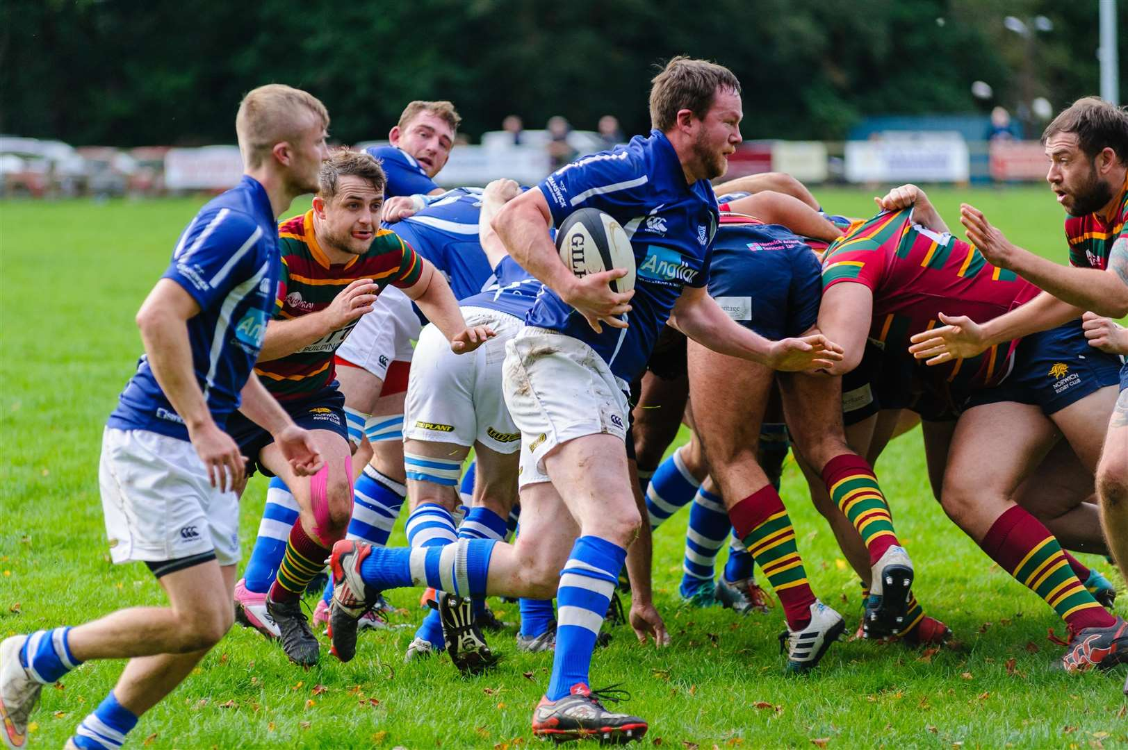 Rugby action from Diss v Norwich - Deaglan Hall..Mark Bullimore Photography 2019. (31948896)