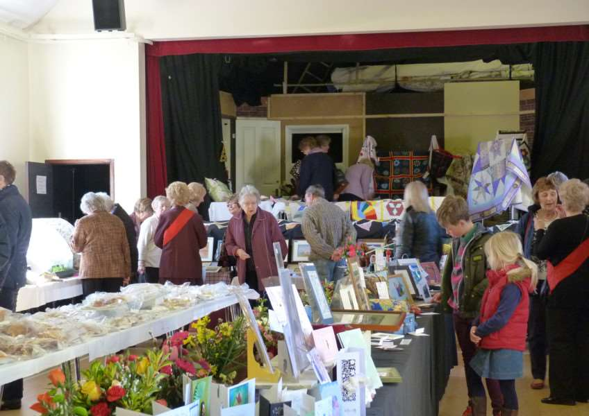 The Upper Waveney Women's Institute Exhibition of Produce and Craft 2015 ANL-150415-104146001