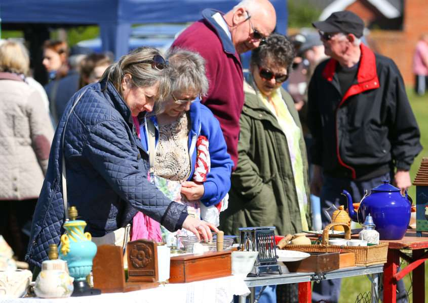 The first ever Diss Brocante was held in April 2016.