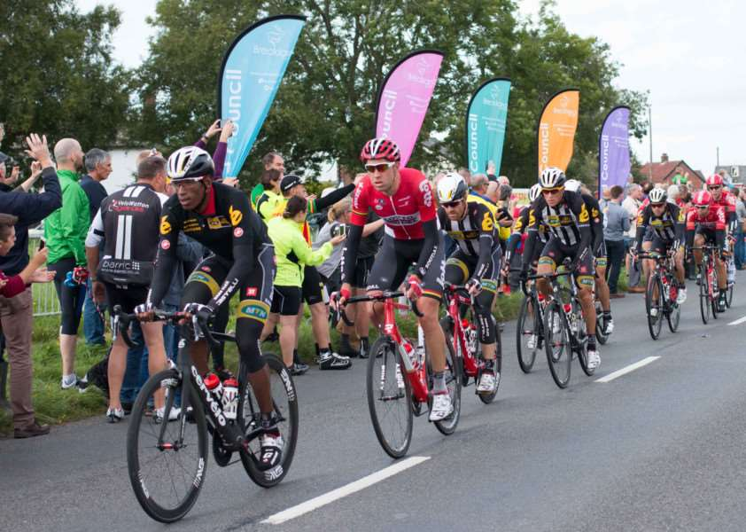 The Tour of Britain rode through Old Buckenham on Saturday, September 12. ANL-150914-144019001