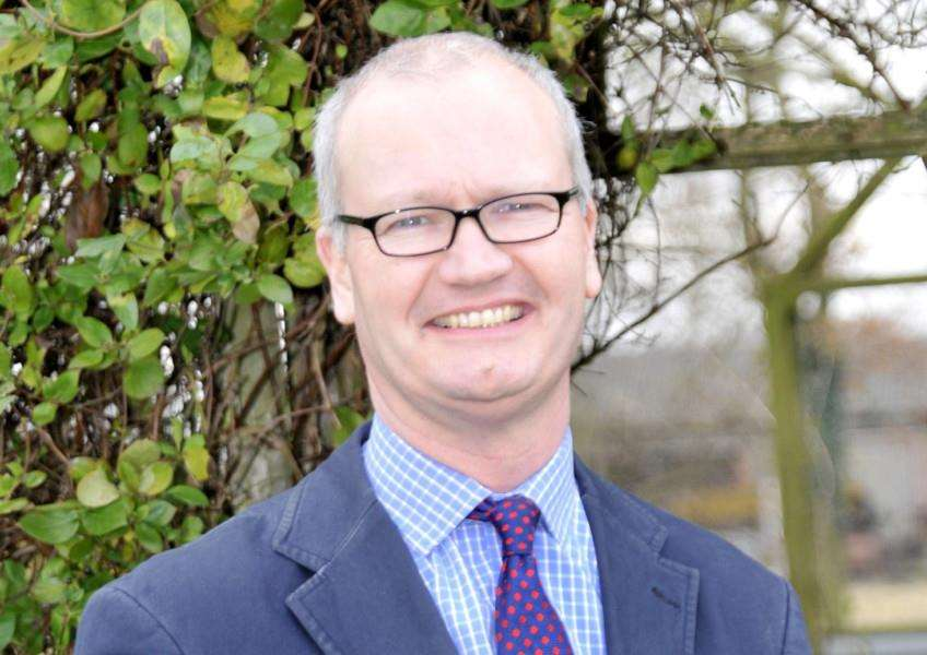 Matthew Hicks is challenging for leadership of Suffolk County Council's Conservatives