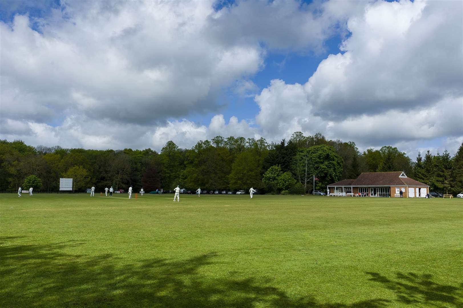 Old Buckenham CC ground during play of the Premier Division of the Alliance Premier League match between Old Buckenham and Horsford II...Picture: Mark Bullimore Photography. (33819625)