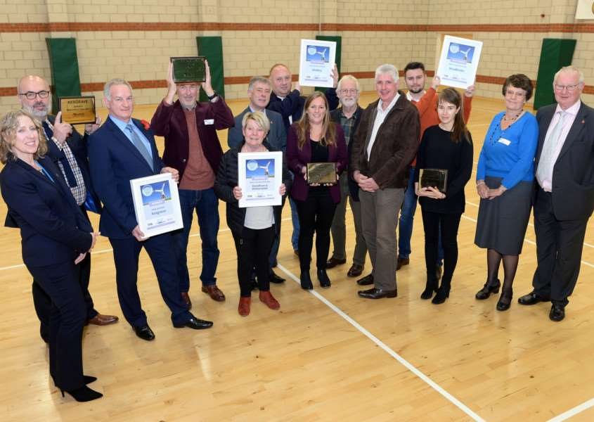 Mendham, Shotley, Stradbroke and Kesgrave have scooped the honours in this year's Suffolk's Most Active Community Awards. Submitted picture.