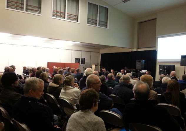 More than 65 residents attended a Diss Town Council planning committee meeting to offer a recommendation on Persimmon Homes' plan for Frenze Hall Lane. ANL-160402-163912001