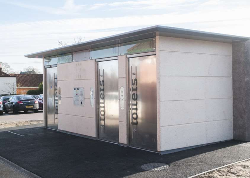 Harleston\'s controversial \'state-of-the-art- toilets to be removed