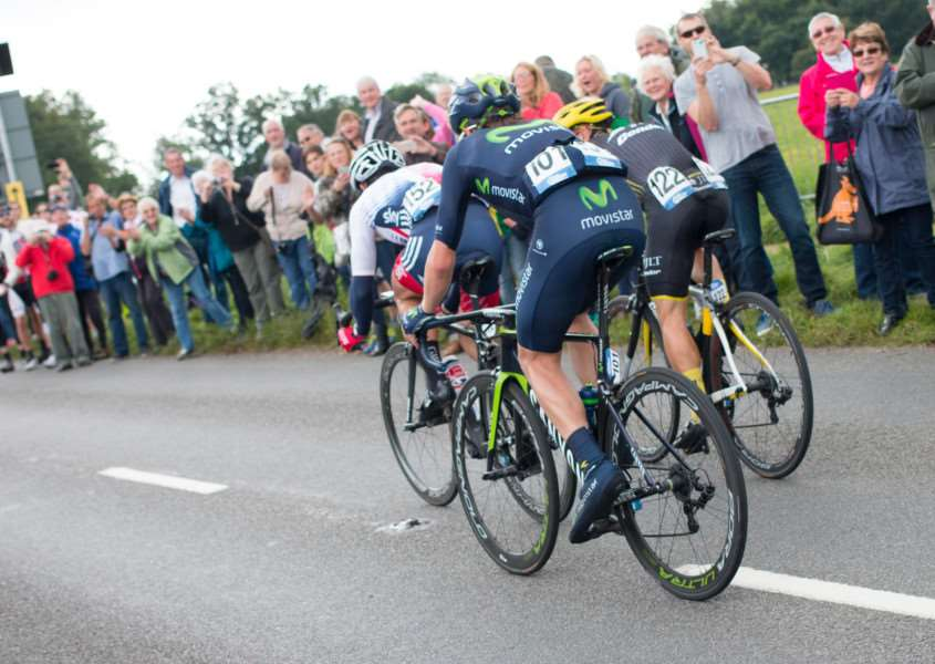 The Tour of Britain rode through Old Buckenham on Saturday, September 12. ANL-150914-144008001