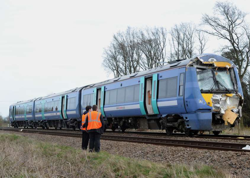 Train and Tractor crash at Roudham ANL-161004-191126009