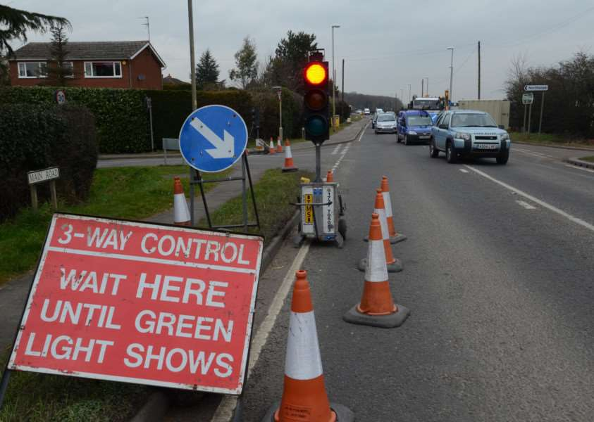 Roadworks due to start in Great Moulton
