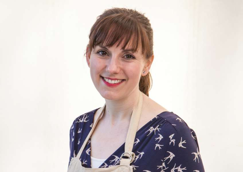 Great British Bake Off competitor Kate from Norfolk - Photographer: Mark Bourdillon BBC One