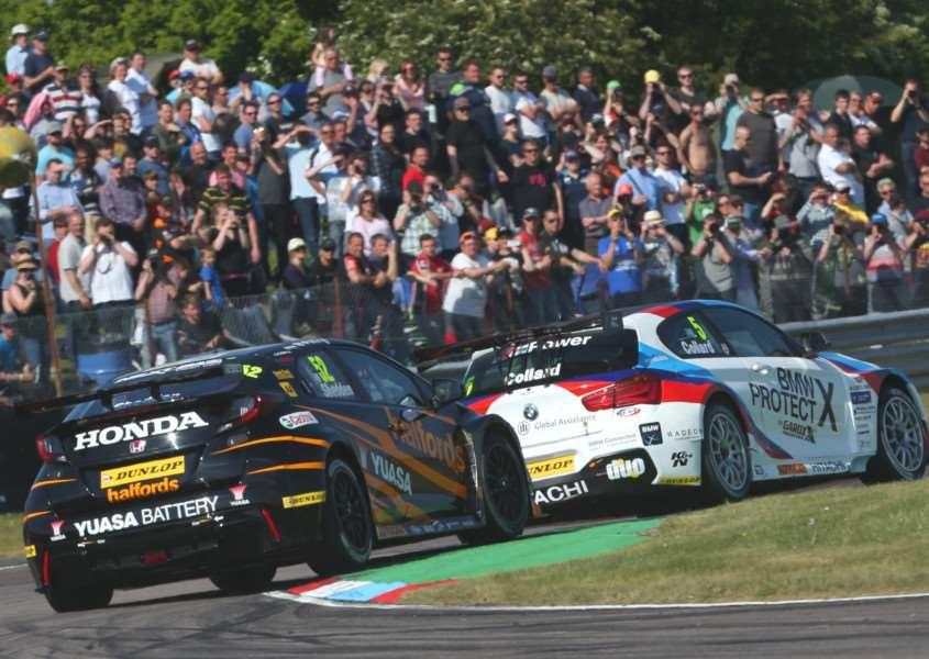 CLOSE BATTLE: Snetterton is set to host some big racing action this weekend