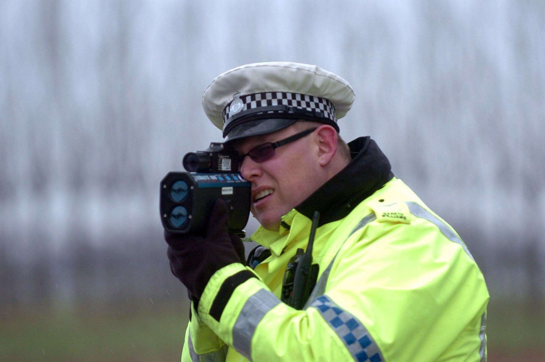 160 drivers were caught travelling in excess of 100mph in 2018