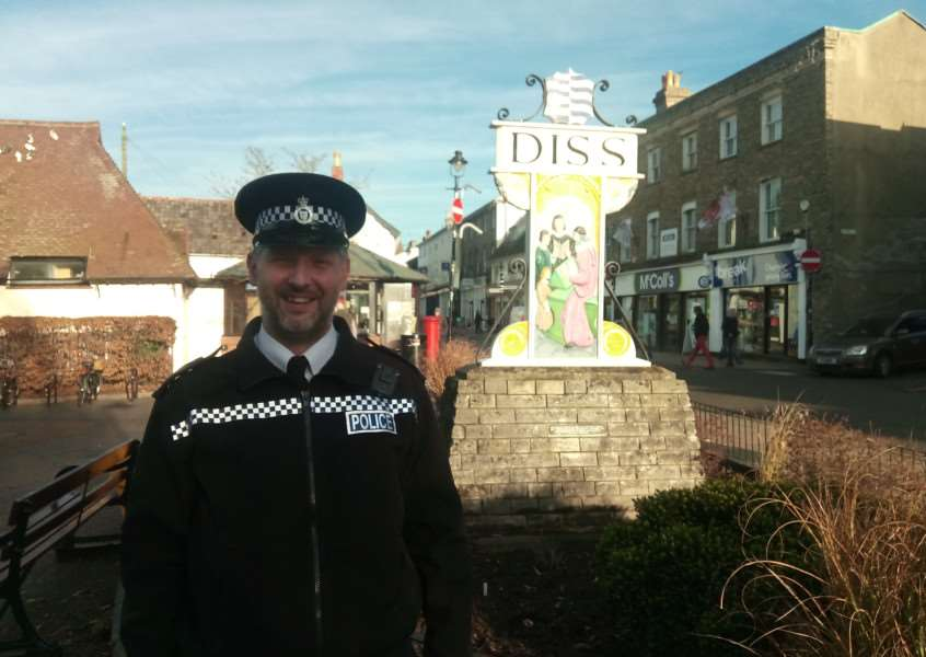 South Norfolk Community Engagement Officer Jim Squires.