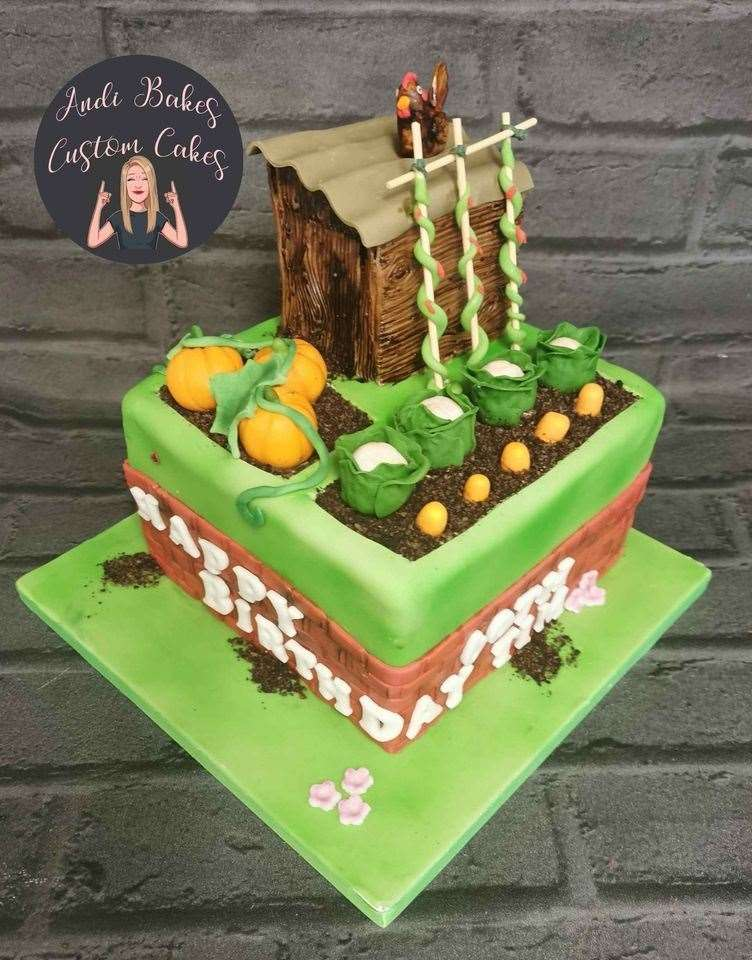 Miss Robertson makes all her cakes and icing designs by hand (42530383)