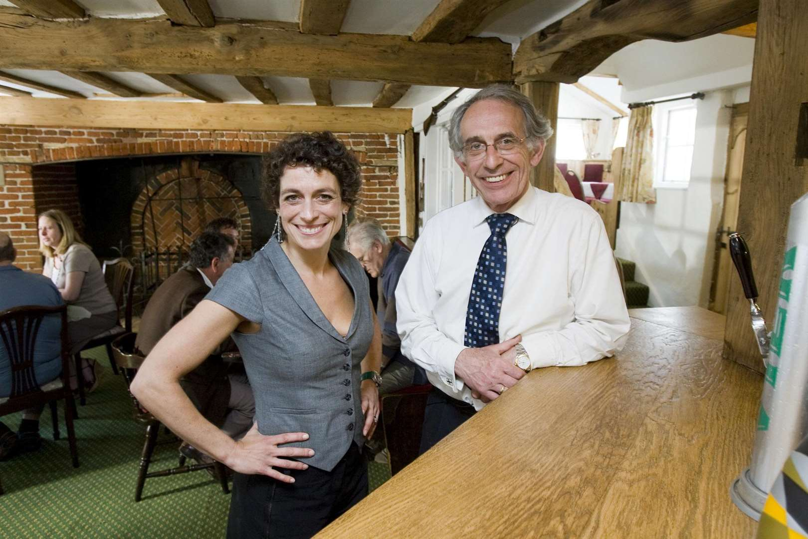 MAN OF CHANGE: Robin Twigge impressed Alex Polizzi with the changes he has made over the years.