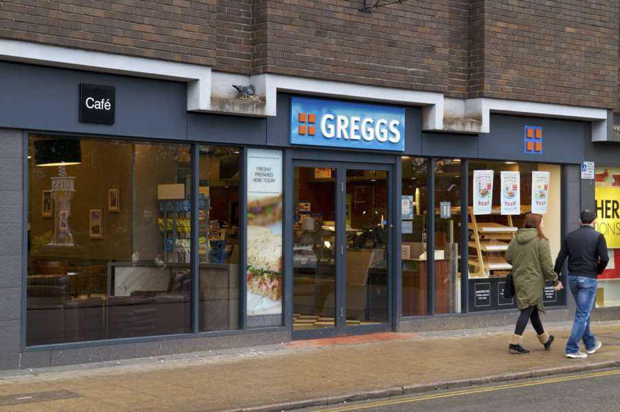 "Diss, Norfolk. Greggs in Diss has decided to close its doors to the public while an investigation into a possible ��rodent issue�"" is looked into by the district council. ''Picture: MARK BULLIMORE"