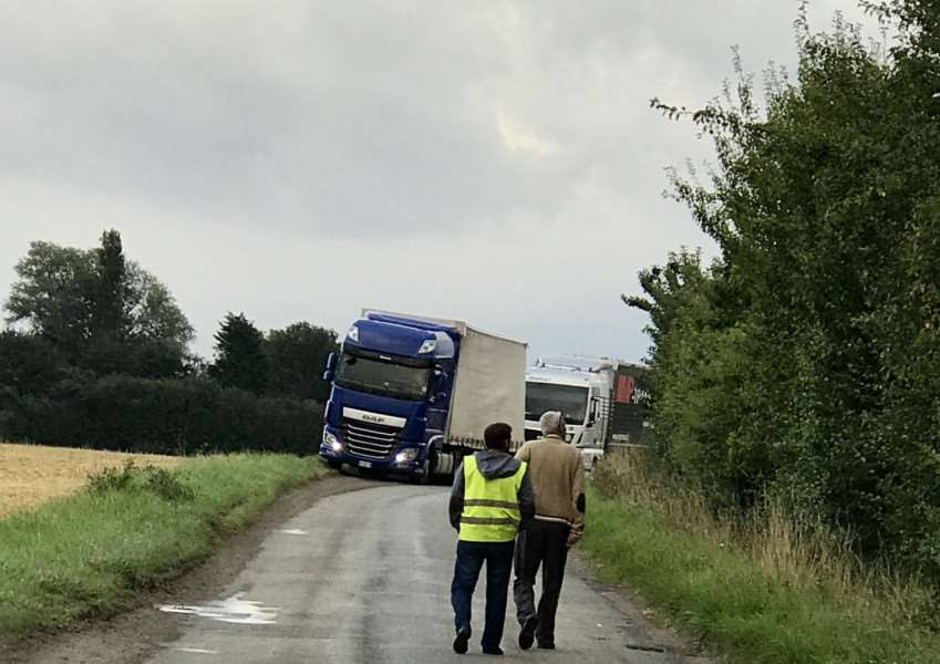Central Suffolk and North Ipswich MP Dr Dan Poulter has called on authorities to bring to an end the 'HGV' misery in Wetheringsett. Submitted photo.
