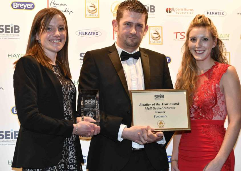 Harleston-based company, Feedmark, has won the coveted industry title of SEIB Retailer of the Year 2018 in the Online/Mail Order Retailer category at the BETA Business Awards. Picture: Simon D Jones.
