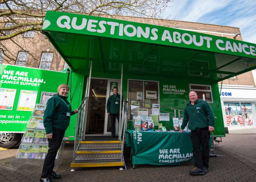 The Macmillan mobile support service service is coming to Diss. Photo: Glyn Collins.