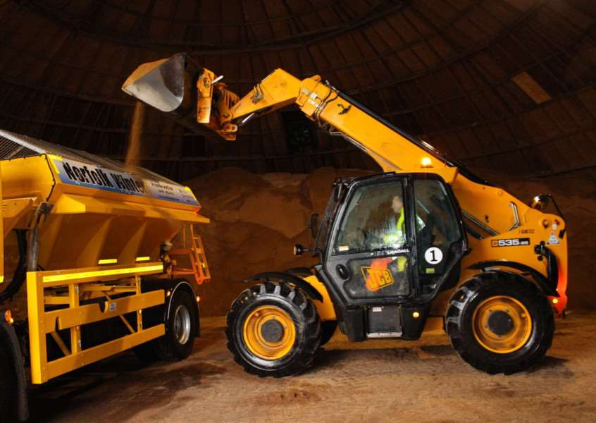 Norfolk County Council winter preparations ANL-171101-155558001