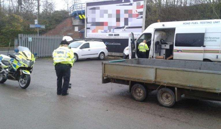 Checks revealed a string of offences. Picture: South Norfolk Police