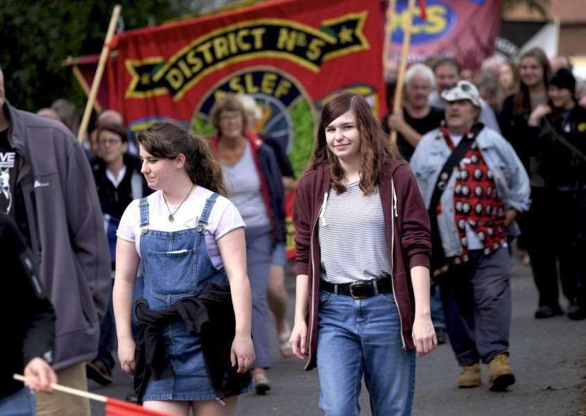 Pictures from last year's Burston Strike School Rally.