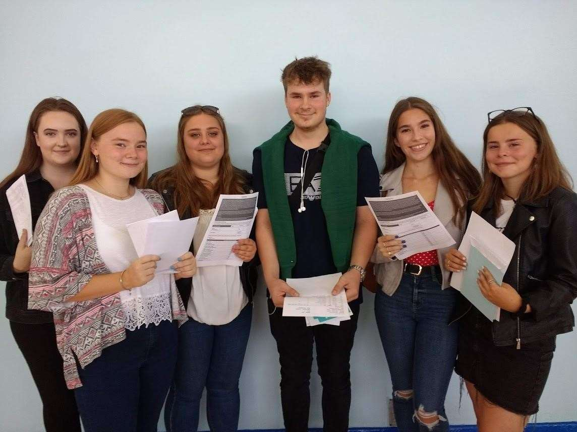 Attleborough Academy Norfolk GCSE results 2019. Pictures: Contributed