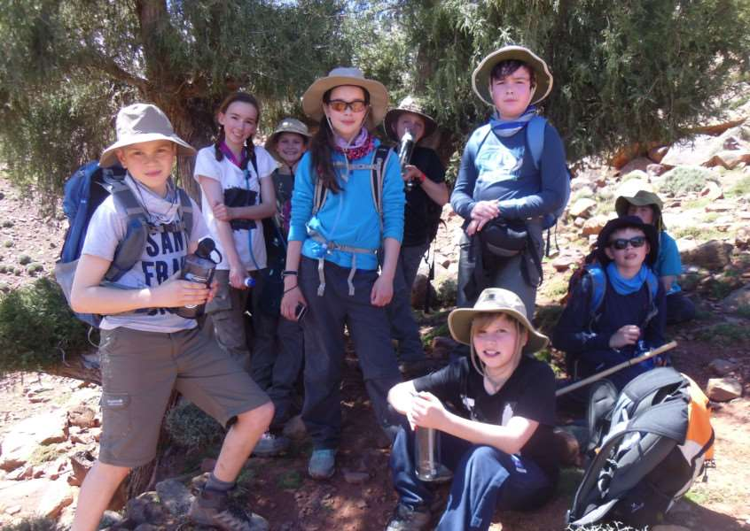 Brandeston Hall students enjoyed a trip to Morocco during their Easter break. ANL-150420-110441001