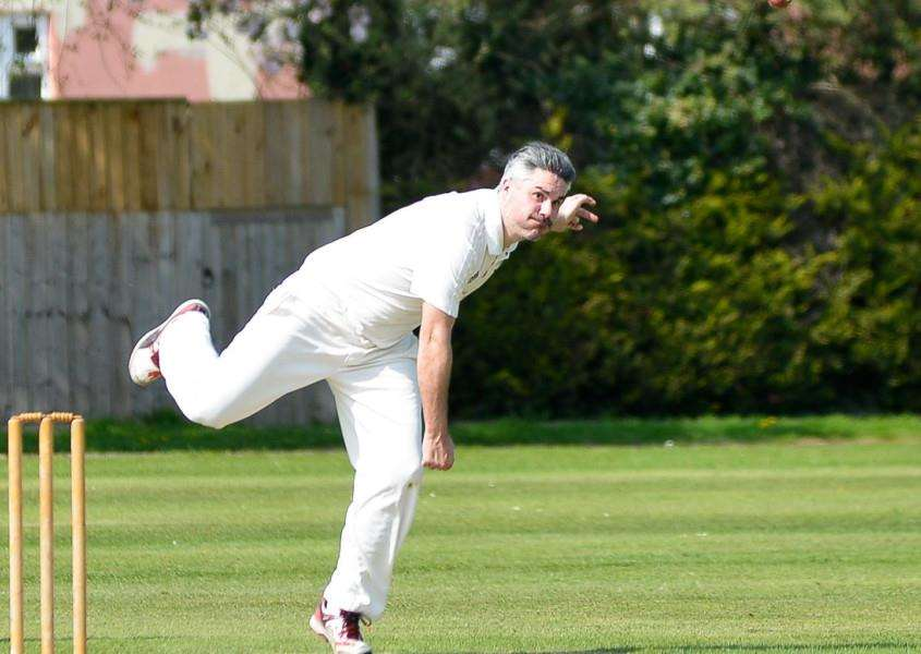 TOP PERFORMANCE: Ned Campbell starred with bat and ball for Walsham in their season-opening victory