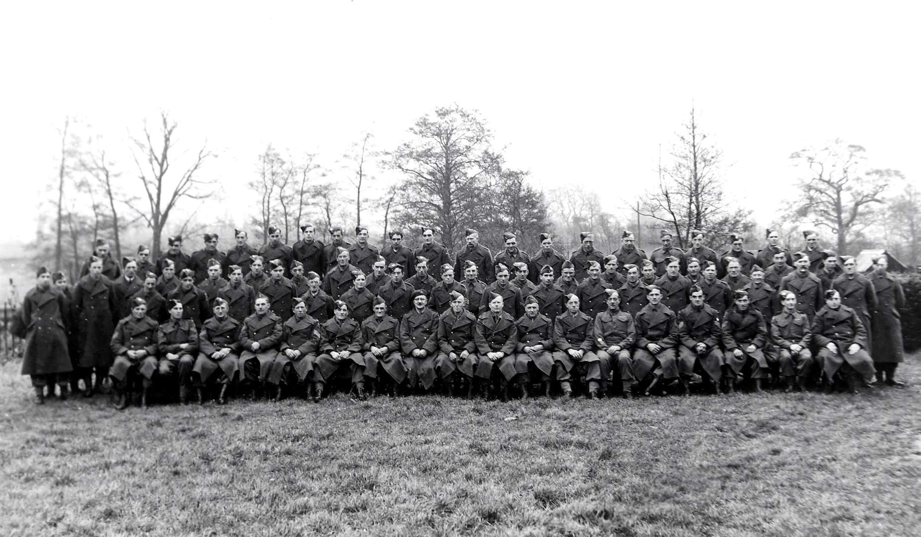 Hoxne Home Guard had around 100 members when it disbanded in 1944. Picture: Hoxne Heritage Group.