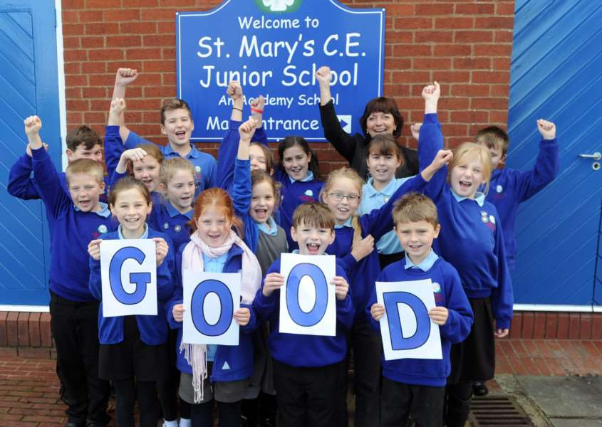 St Mary's C of E Junior Academy in Long Stratton has been rated 'Good' by Ofsted. ANL-161123-164546009
