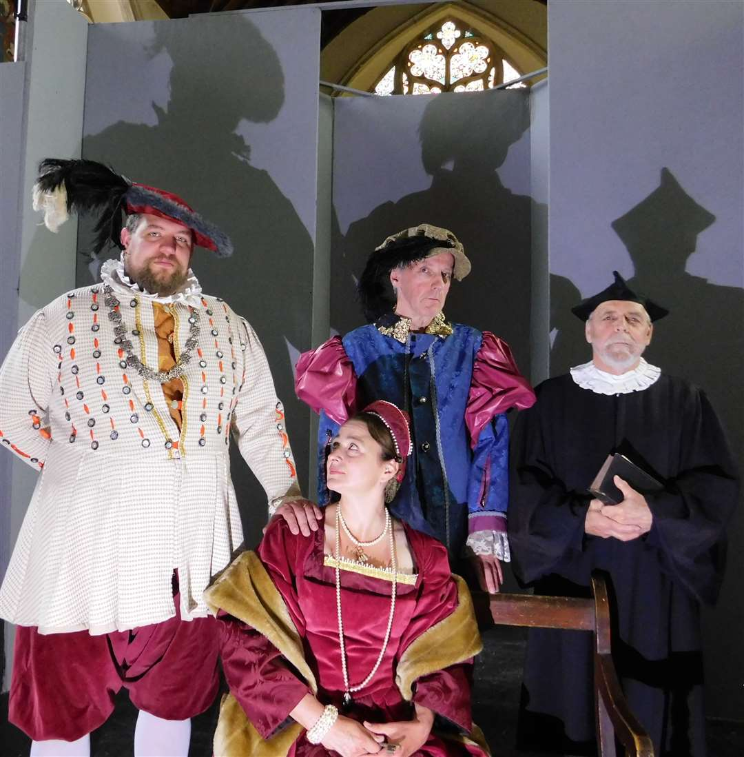 Wortham and Redgrave Theatre Society will perform Anne of The Thousand Days this week.