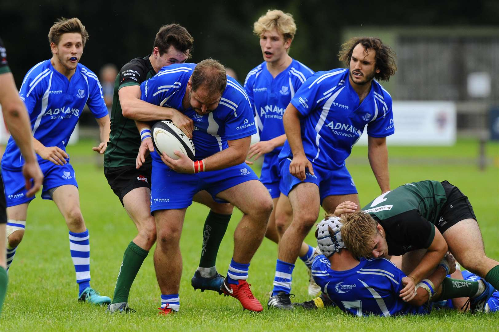 Roydon, Norfolk. 08 September 2018 ..Rugby action from Diss RFC v North Walsham - Chris Beard...Picture by Mark Bullimore Photography. (4048340)