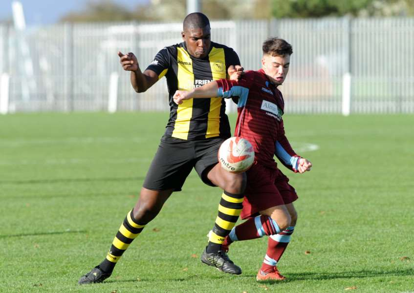 KNOCKED OUT: Debenham exited the FA Vase in a replay