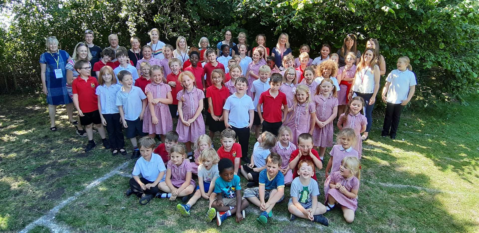 Worlingworth Primary School was praised as a core part of the village community by education inspectors. Picture: Contributed