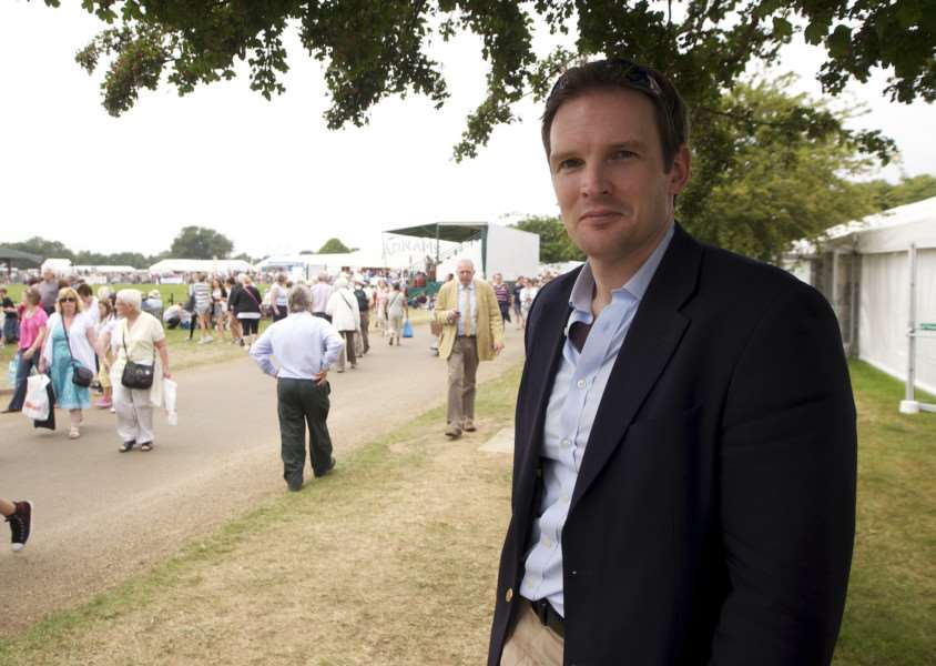 Dr Dan Poulter, MP for Central Suffolk and North Ipswich