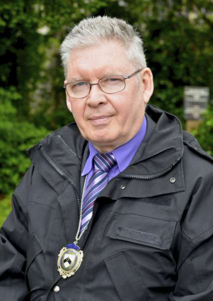 Harleston, Norfolk. Barry Woods new chairman of Harleston Town Council ANL-140827-145805001
