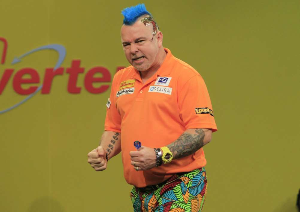 CHAMPIONSHIP DREAM: Peter Wright is determined to be crowned PDC World