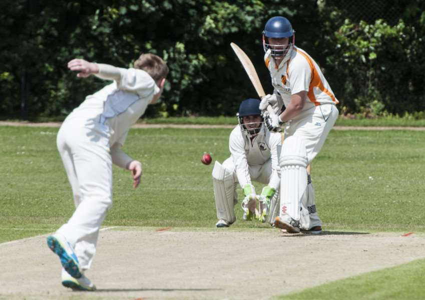 GOOD CONTRIBUTION: Opening batsman Chris Cooper scored 44 runs for Diss in Saturday's victory over Thetford