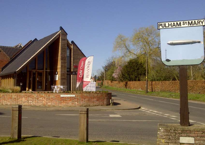 Pennoyer Centre in Pulham St Mary.